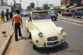 Antananarivo - taxík - stařičký citroen CV2