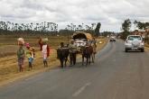 Antananarivo - provoz na silnici