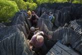 Tsingy de Bemaraha - část Petit Tsingy