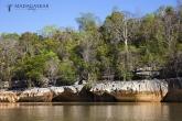 Tsingy de Bemaraha - kaňon řeky Manambolo