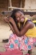 Na trhu ve vesničce u Tsiribihiny