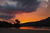 Západ slunce na Tsiribihině