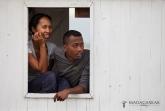 Personál na lodi na Tsiribihině