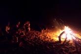 Večer u ohně - řeka Tsiribihina