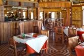 Hotelová restaurace v Morondavě