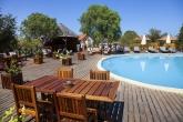 Bazén u hotelu v Morondavě