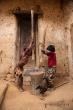 Děti ve vesnici Antanifotsy u NP Andringitra
