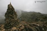 Vrchol Imarivolanitra (Pic Boby) - 2568 m, národní park Andringitra