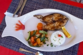 Grilovaná ryba v Anakao
