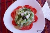 Předkrm (pórkový salát)