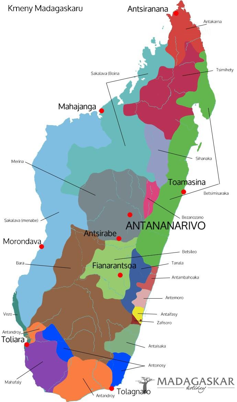 Kmeny Madagaskaru