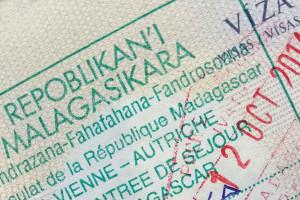 Madagaskarské turistické vízum