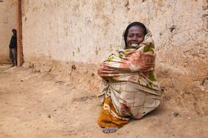 Žena Betsileo - vesnice Antanifotsy, Andringitra