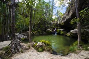 Jezírko Piscine naturelle - park Isalo
