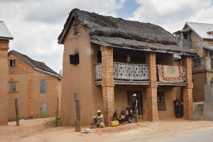 Dům u RN7 - centrální Madagaskar